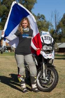 BMW Motorrad International GS Trophy Female Team Qualification, Stephanie Bouisson (France)  (09/2015)