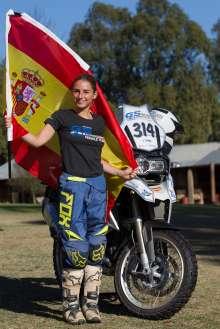 BMW Motorrad International GS Trophy Female Team Qualification, Iciar Tatay (Spain) (09/2015)
