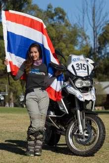 BMW Motorrad International GS Trophy Female Team Qualification, Dusita Naswriyawong (Thailand)  (09/2015)
