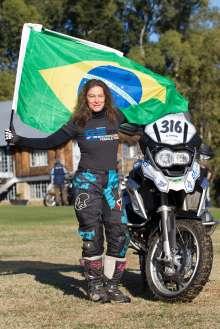 BMW Motorrad International GS Trophy Female Team Qualification, Rosa Freitag (Brazil) (09/2015)