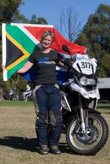 BMW Motorrad International GS Trophy Female Team Qualification, Morag Campbell (South Africa) (09/2015)