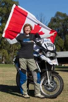 BMW Motorrad International GS Trophy Female Team Qualification, Caroline Stevenson (Canada) (09/2015)
