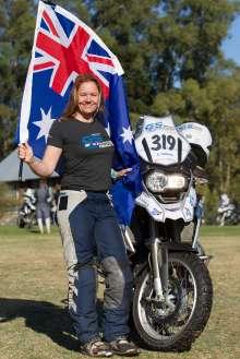 BMW Motorrad International GS Trophy Female Team Qualification, Amy Harburg (Australia)  (09/2015)
