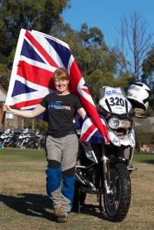 BMW Motorrad International GS Trophy Female Team Qualification, Jennifer Huntley (UK) (09/2015)