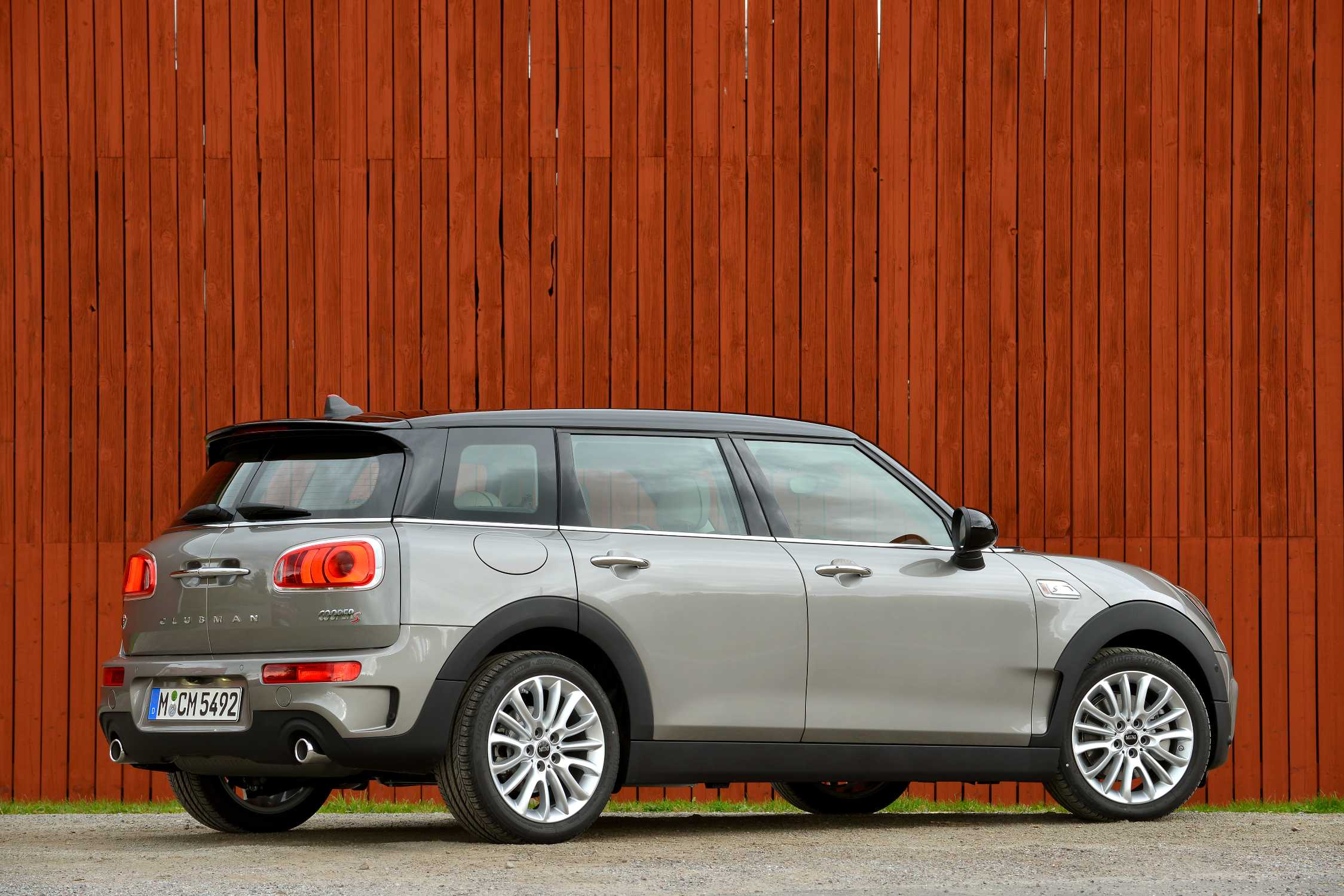 Mini Cooper S Clubman Melting Silver Metallic 092015
