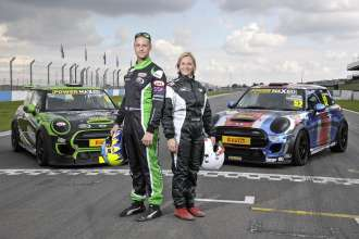 Brother and sister duo Vicki and Charlie Butler-Henderson will be taking sibling rivalry to the grid this weekend, battling it out in the penultimate round of the MINI Challenge series