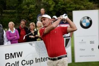 Markus Brier beim österreichischen Landesfinale des BMW Golf Cups International 2015 (09/2015)