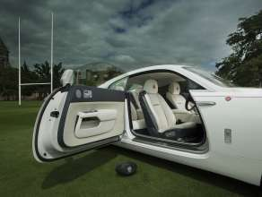 Rolls Royce Motor Cars Unveils Bespoke Wraith History Of Rugby