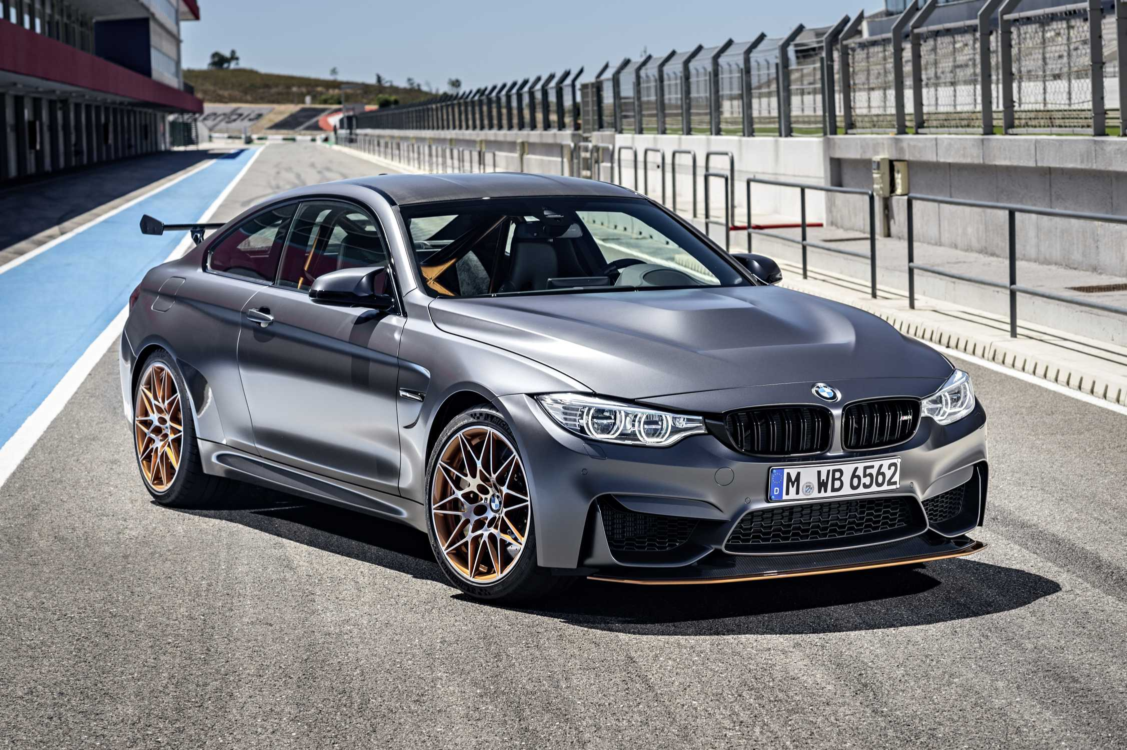 The new 2016 BMW M4 GTS an exclusive highperformance special