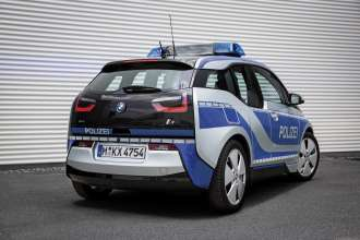 The BMW i3 Police Vehicle (09/2015).