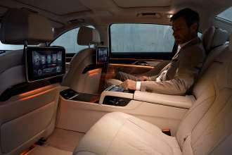 The new BMW 7 Series - Interior (10/2015).