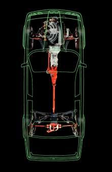 BMW 325iX E30, Röntgenbild Allradantrieb  (10/2015)