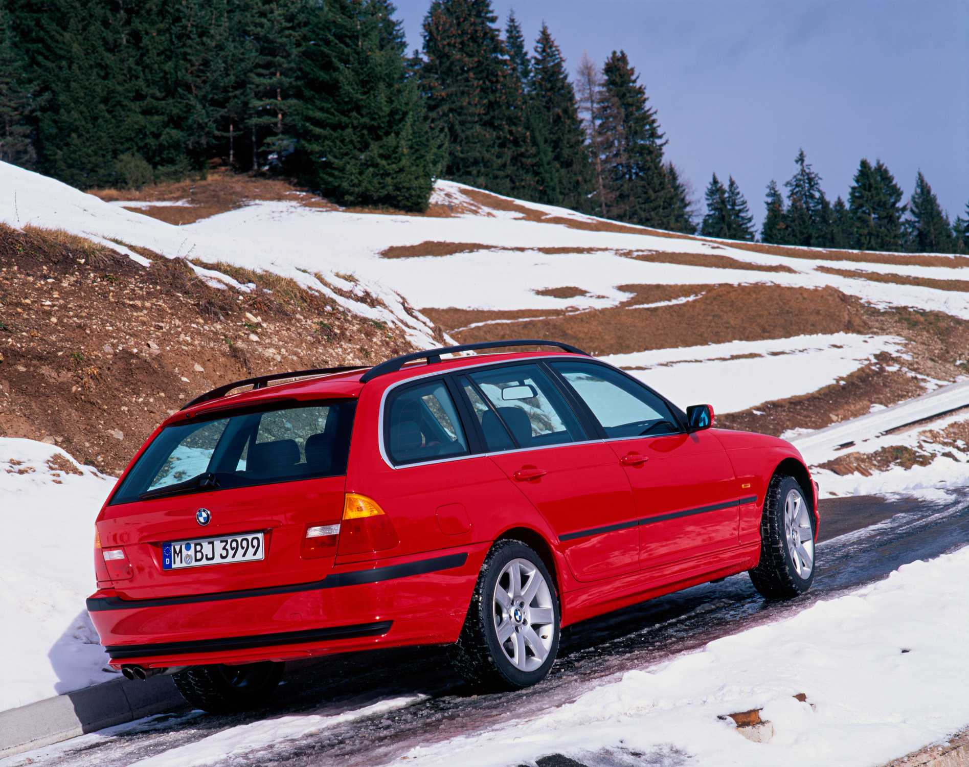 Worksheet. BMW 3er touring E46 with optional allwheel drive 102015