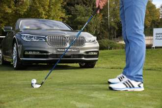 BMW Golf Cup International 2015. The finale held at the Golf Club Arzaga. The BMW 7-Series (10/2015).