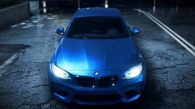 Das neue BMW M2 Coupé im jüngsten Teil der Rennspielserie Need for Speed. (10/2015)