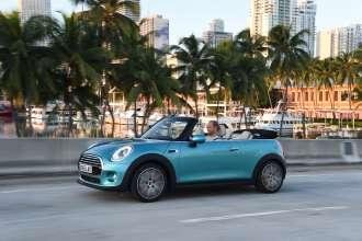 MINI Cooper Convertible. Caribbean Aqua metallic. (10/2015)