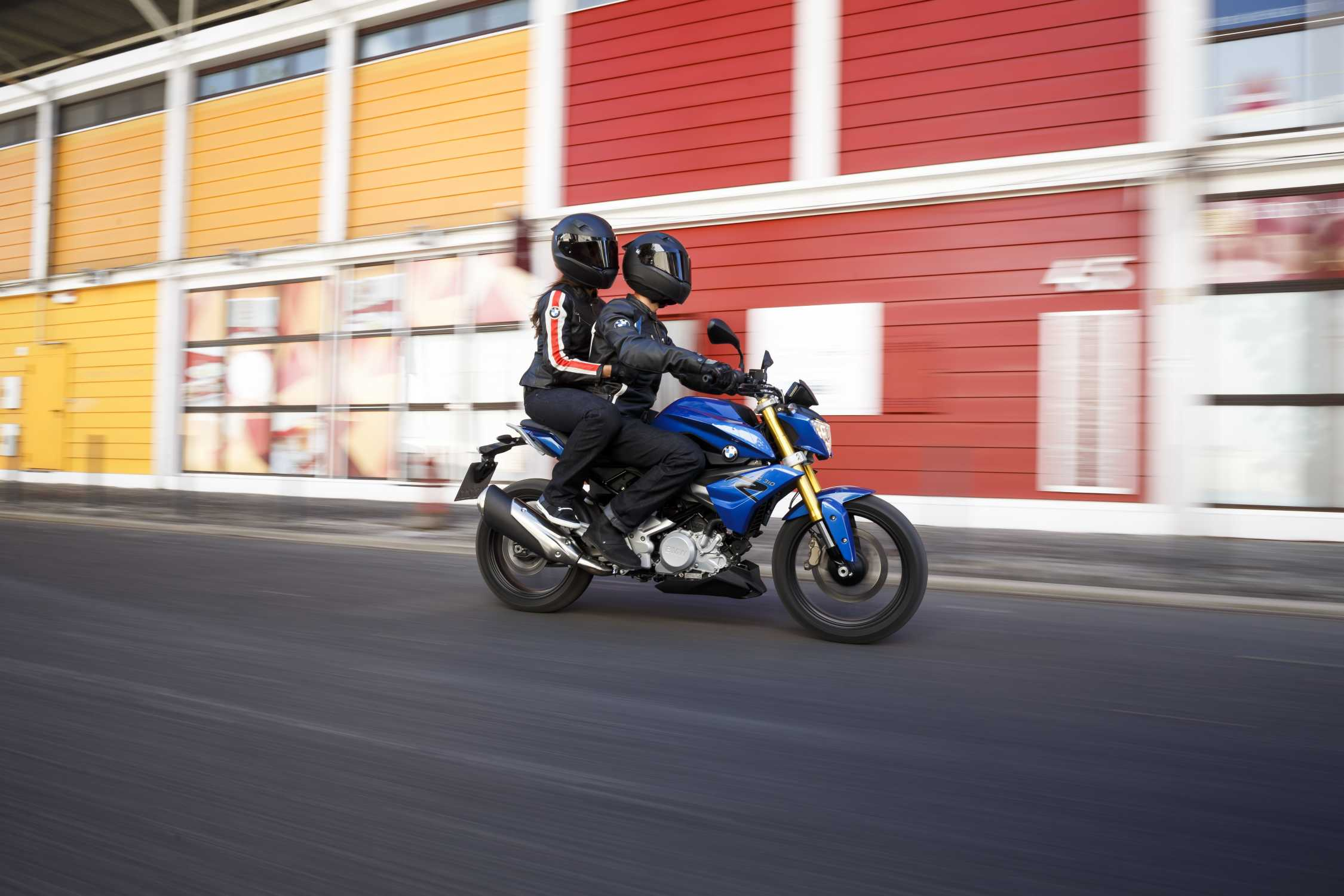 Мотоцикл BMW g 310 r #10