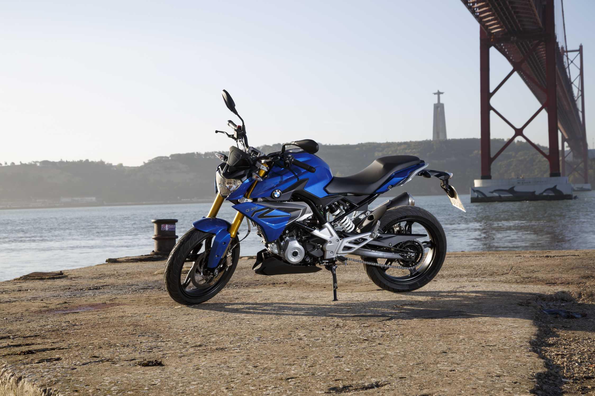 BMW 310r мотоцикл #7
