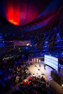 Poetry Slam in der BMW Welt. (10/2015)