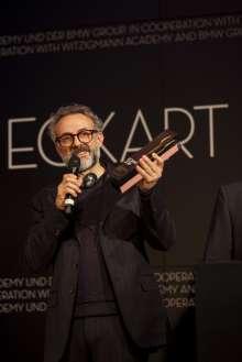 Massimo Bottura, ECKART 2015 für Innovation. Verleihung des ECKART 2015, BMW Museum (10/2015).
