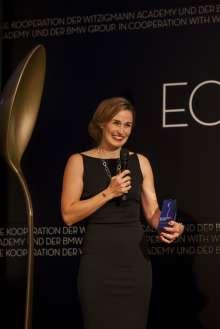 Melanie Wagner, ECKART 2015 für Lebenskultur. Verleihung des ECKART 2015, BMW Museum (10/2015).
