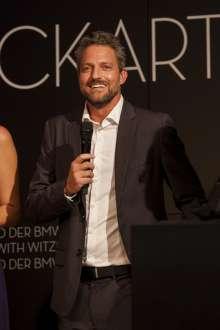 Jon Rose, Gründer Waves4Water, Preisträger ECKART 2014 für Kreative Verantwortung und Genuss. Verleihung des ECKART 2015, BMW Museum (10/2015).