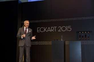 Dr. Friedrich Eichiner, Mitglied des Vorstands der BMW AG. Verleihung des ECKART 2015, BMW Museum (10/2015).