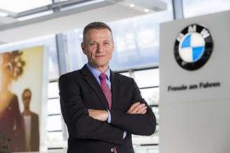 Peter van Binsbergen, Senior Vice President Sales und Marketing BMW Germany. (10/2015)