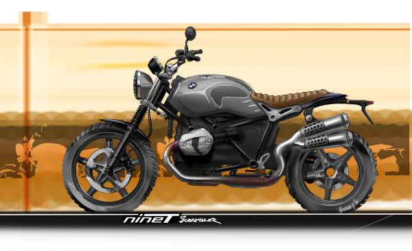 The New Bmw R Ninet Scrambler A Down To Earth Character Beyond Established Conventions