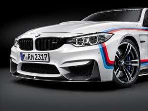 BMW M4 Coupé mit BMW M Performance Parts front view (11/2015)