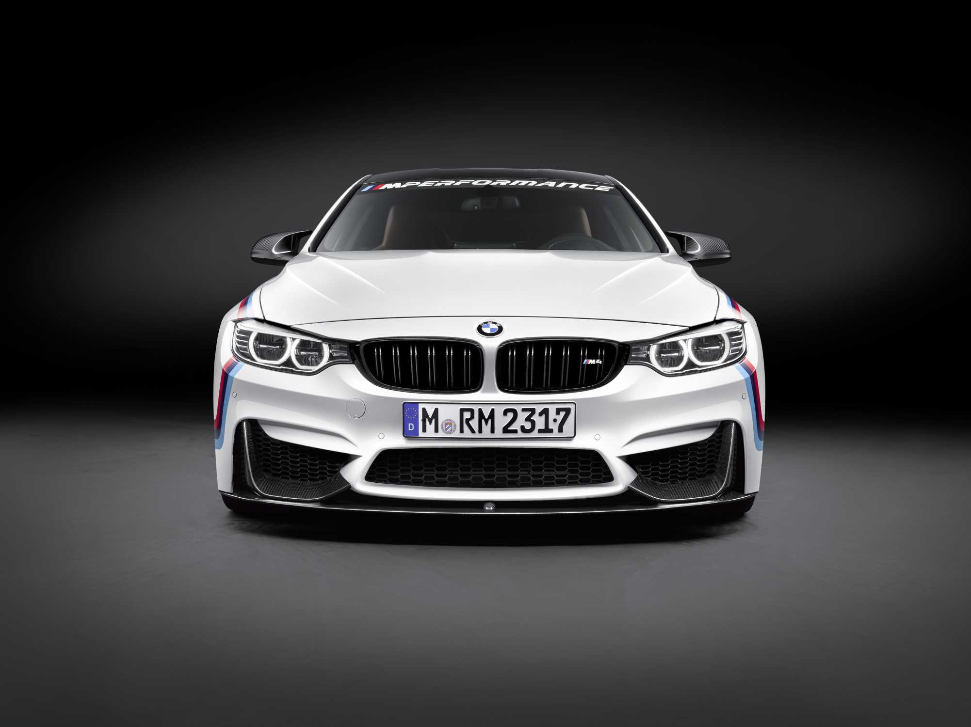 Bmw M4 Coup 233 With Bmw M Performance Parts Front View 11 2015