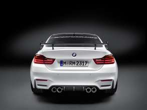 BMW M4 Coupé with BMW Performance Parts rear view (11/2015)