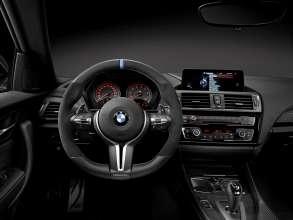 BMW M2 Coupé with BMW M Performance Parts interior (11/2015)