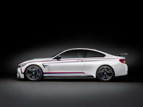 BMW M4 Coupé with BMW M Performance Parts side view (11/2015)