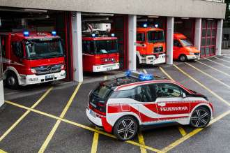 The BMW i3 Fire Fighter - Germany (11/2015).