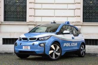 The BMW i3 Police Car - Italy (11/2015).