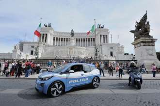 The BMW i3 Police Car - Italy (11/2015).