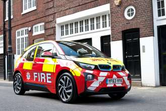 The BMW i3 Fire Fighter - Great Britain (11/2015).