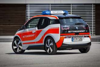 The BMW i3 Emergency Vehicle - Germany (11/2015).