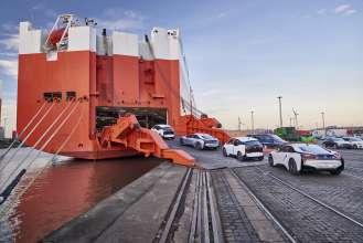 BMW i3 shipping (11/2015)