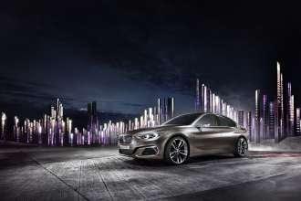 BMW Concept Compact Sedan, Exterieur (11/2015)