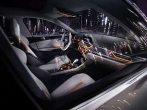 BMW Concept Compact Sedan, Interieur (11/2015)