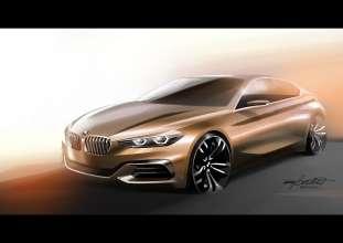 BMW Concept Compact Sedan, Designskizze (11/2015)