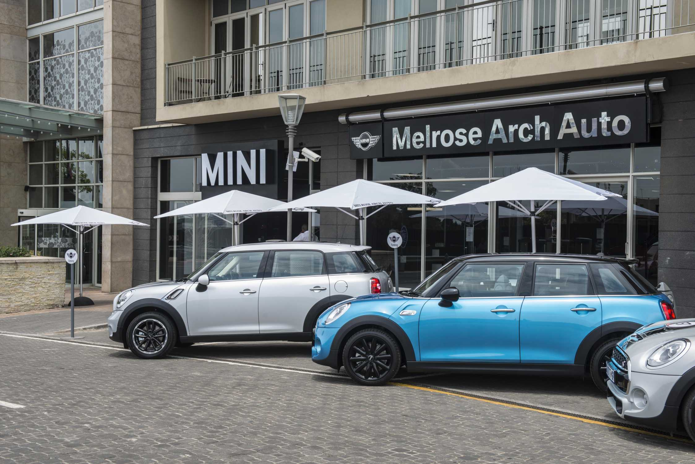 Melrose arch auto the new mini outlet in melrose arch for South motors bmw mini