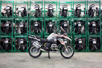 BMW Motorrad International GS Trophy Southeast Asia 2016, 114 BMW R 1200 GS motorcycles for Thailand (12/2015)