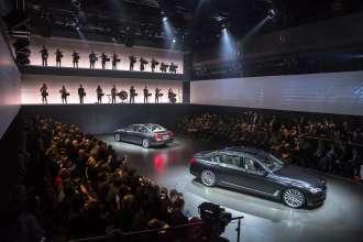 Die Weltpremiere des neuen BMW 7er am 10. Juni 2015 in der BMW Welt. (12/2015)