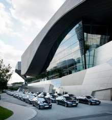 Die Händlervorstellung des neuen BMW 7er in der BMW Welt. (12/2015)