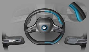 BMW Group @ CES 2016, BMW i Vision Future Interaction, design sketch (01/16)