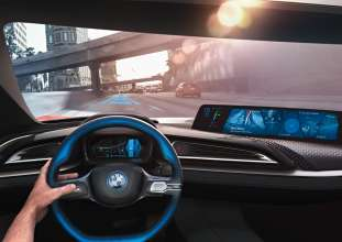 BMW Group @ CES 2016, BMW i Vision Future Interaction with BMW Connected (01/16)
