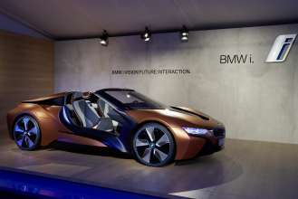 BMW i Vision Future Interaction. (01/2016)